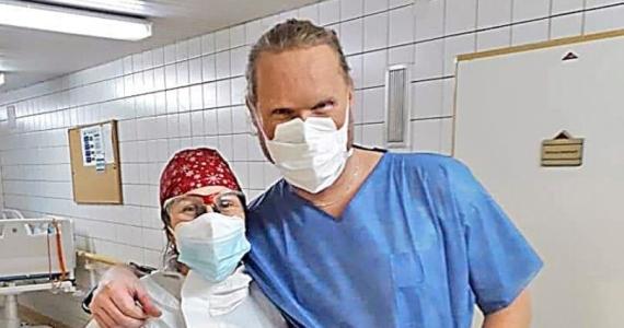 Svedectvo kňaza Ľubora Gála z dobrovoľníckej služby na ARO Fakultnej nemocnice v Nitre