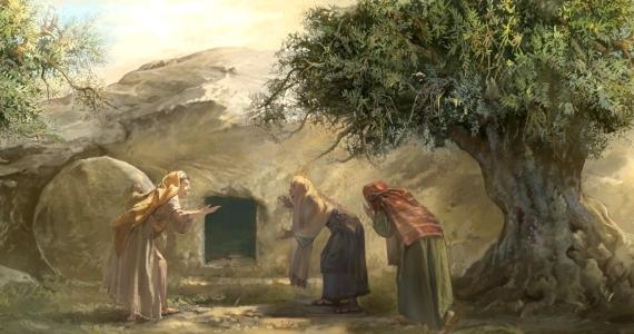 Duchovné zamyslenie na nedeľu Pánovho zmŕtvychvstania Veľká noc, 4. apríla 2021