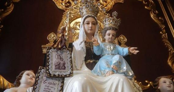 Panna Mária Karmelská (Škapuliarska). Sviatok – 16. júl.