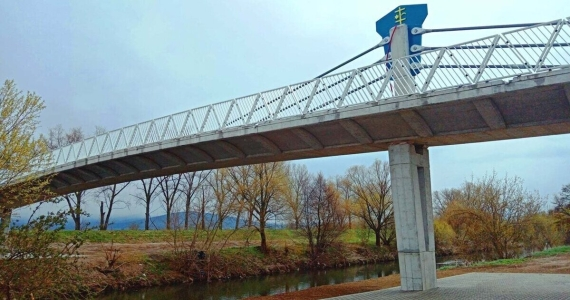 Aké meno dostane nový cyklomost cez rieku Nitru v Topoľčanoch?