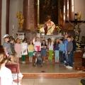 Deň matiek -  predstavenie detí z cirkevnej školy sv. don Boska