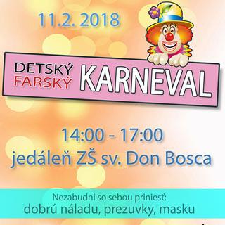 Farský detský karneval