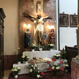Modlitba pri Božom hrobe
