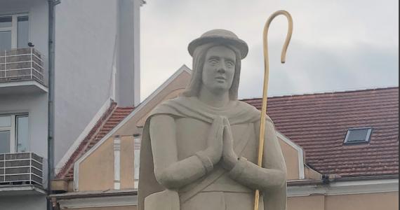 Obnovená socha sv. Vendelína