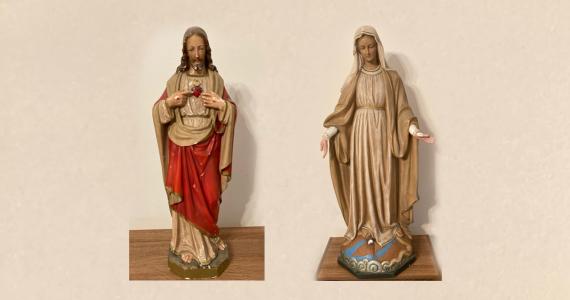 Socha Panny Márie zázračnej medaily